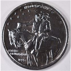 1925 STONE MOUNTAIN COMMEMORATIVE HALF DOLLAR, CHOICE BU+