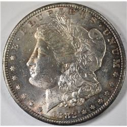 1882-CC MORGAN SILVER DOLLAR, CHOICE BU