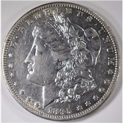 1895-O MORGAN SILVER DOLLAR, AU  KEY DATE