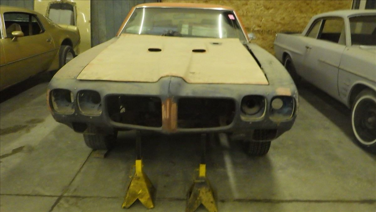 1972 Pontiac Lemans Roling Chasis With Few Parts Wiring Image 2