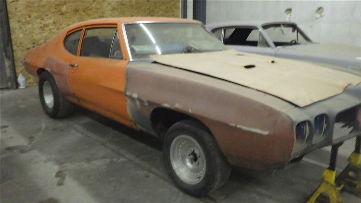 1972 Pontiac Lemans Roling Chasis With Few Parts Wiring Image 3