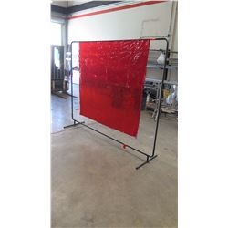 Tillman Welding Curtain w/Metal Frame - 6ft x 8ft