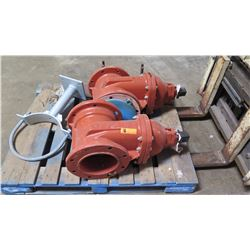 Qty 2 Wedge Gate Valves 8  - C509P2 RW8-INCH