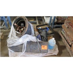 Contents of Pallet: Metal Valve and Rubber Material