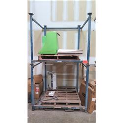 "Unicor Pallet Racking 48""X53"" Footprint (98"" H) - 3000 Lbs Rated Load"