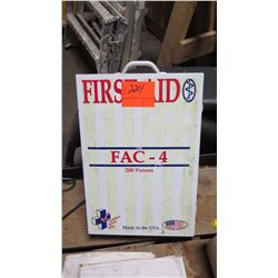 First Aid Kit, 200-Person (used, incomplete)