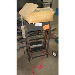 Pallet-Strapping Cart w/Clamps