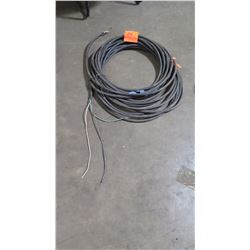 Black Coated Cable