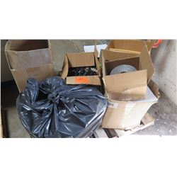 Contents of Pallet: Tape, Hardware, Tile, etc.