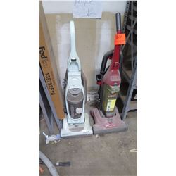 Qty 2 Vacuum Cleaners