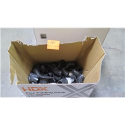 Contents of Box: Black PVC Fittings