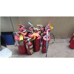Qty 10 Fire Extinguishers