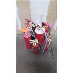 Qty 7 Fire Extinguishers