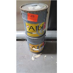 2 Buckets Albi Clad 800 Exterior Fireproof Coating