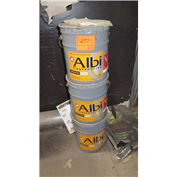 3 Buckets Albi Clad 800 Exterior Fireproof Coating