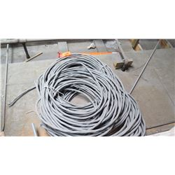 Large Bundle of Gray Wire/Cabling