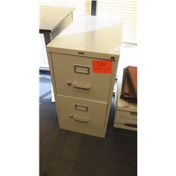 2-Drawer Metal File Cabinet