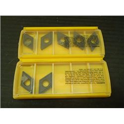 New Kennametal Carbide Inserts, P/N: DCMT150408LF