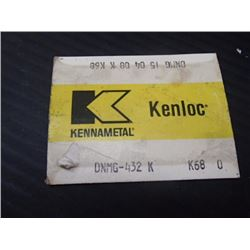 New Kennametal Carbide Inserts, P/N: RNMA43