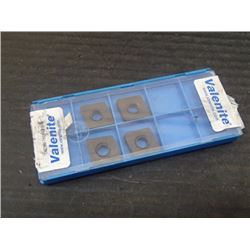 New Valenite Carbide Inserts, P/N: CNMA 433