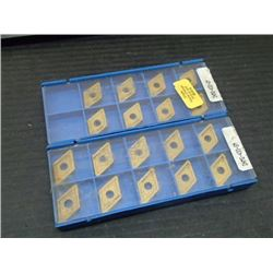 New Valenite Carbide Inserts, P/N: DNMG-433-GM