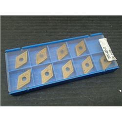 New Valenite Carbide Inserts, P/N: DNMG-432-GM