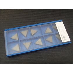 New Valenite Carbide Inserts, P/N: TEC-422 J