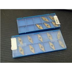 New Valenite Carbide Inserts, P/N: VBGT-332-FL