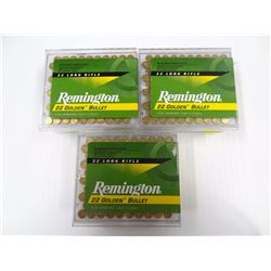 300 ROUNDS REMINGTON GOLDEN BULLET .22LR 40 GR JRN