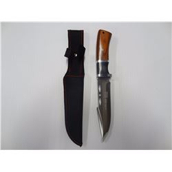 "5 1/2"" US VALOR SHEATH KNIFE"