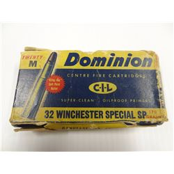 12 ROUNDS VINTAGE DOMINION .32 WIN 170 GR SP