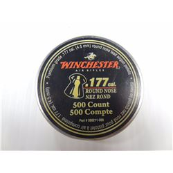 500 ROUNDS WINCHESTER 177 CAL RN PELLETS