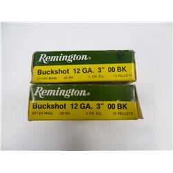 "10 ROUNDS REMINGTON 12 GA 3"" 00BK"