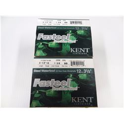 "50 ROUNDS KENT FASTSTEEL 12GA 3 1/2"" 1 3/8 LOAD BB SHOT"