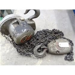 5 TON HOIST *NO SHIPPING*
