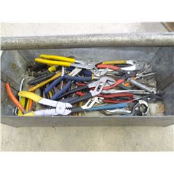 BULK LOT OF PLIERS *NO SHIPPING*