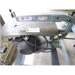 "KING CANADA 15"" SCROLL SAW *NO SHIPPING*"