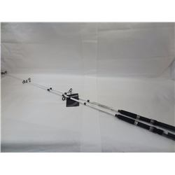 2 SOUTH BEND COMPETITION 7' MEDIUM HEAVY SPINNING RODS