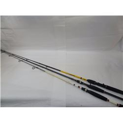 3 RODS, BPS LURKER 5.6', TOURNAMENT PRO 6.6', JOHNNY MORRIS CARBONLITE 7.6'