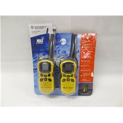 MOTOROLA TALKABOUT 2 WAY RADIO WITH NOAA WEATHER