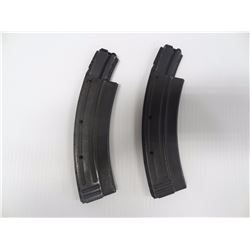 2 UNKNOWN HIGH CAPACITY .22 LR MAGS