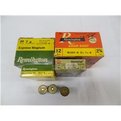 MIXED LOT 12GA AMMO