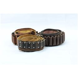 2 12GA, 1 410GA SHOT SHELL BELTS