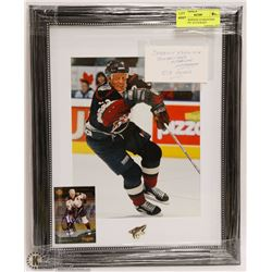 JEREMY ROENICK GUARANTEED AUTHENTIC AUTOGRAPH
