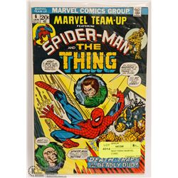 #6 SPIDERMAN THING MARVEL TEAM UP COMIC