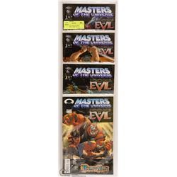 MASTERS OF THE UNIVERSE COLLECTORS COMIC SET 1-4