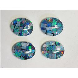 #6-4 OPAL (APPROX 7.00CT) TRIPLET LOOSE GEMSTONES