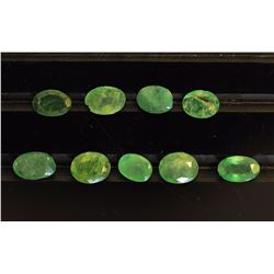 #28-GENUINE LOOSE EMERALD GEMSTONES
