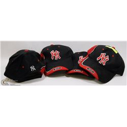 FOUR NYC ADJUSTABLE SIZE BALLCAPS