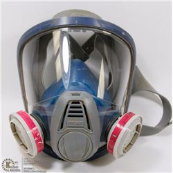 MSA FULL FACE RESPIRATOR MASK